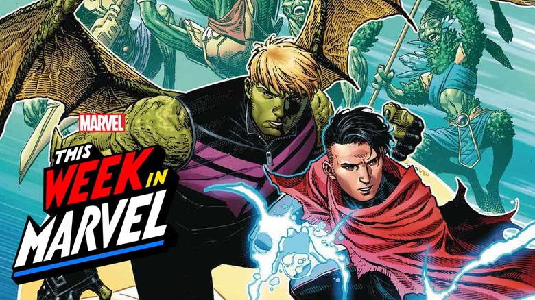 This Week in Marvel Wiccan and Hulkling