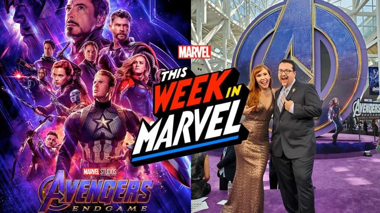 "This Week in Marvel at Marvel Studios' ""Avengers: Endgame"""