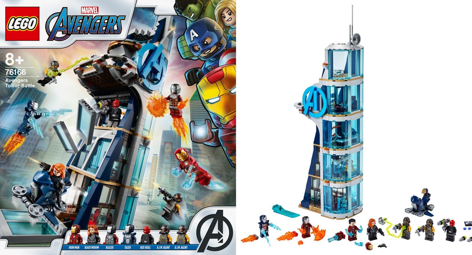 Lego Marvel Avengers Five Brand New Sets Arrive This Summer Marvel