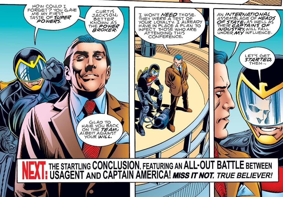 U.S.Agent confronts Power Broker.