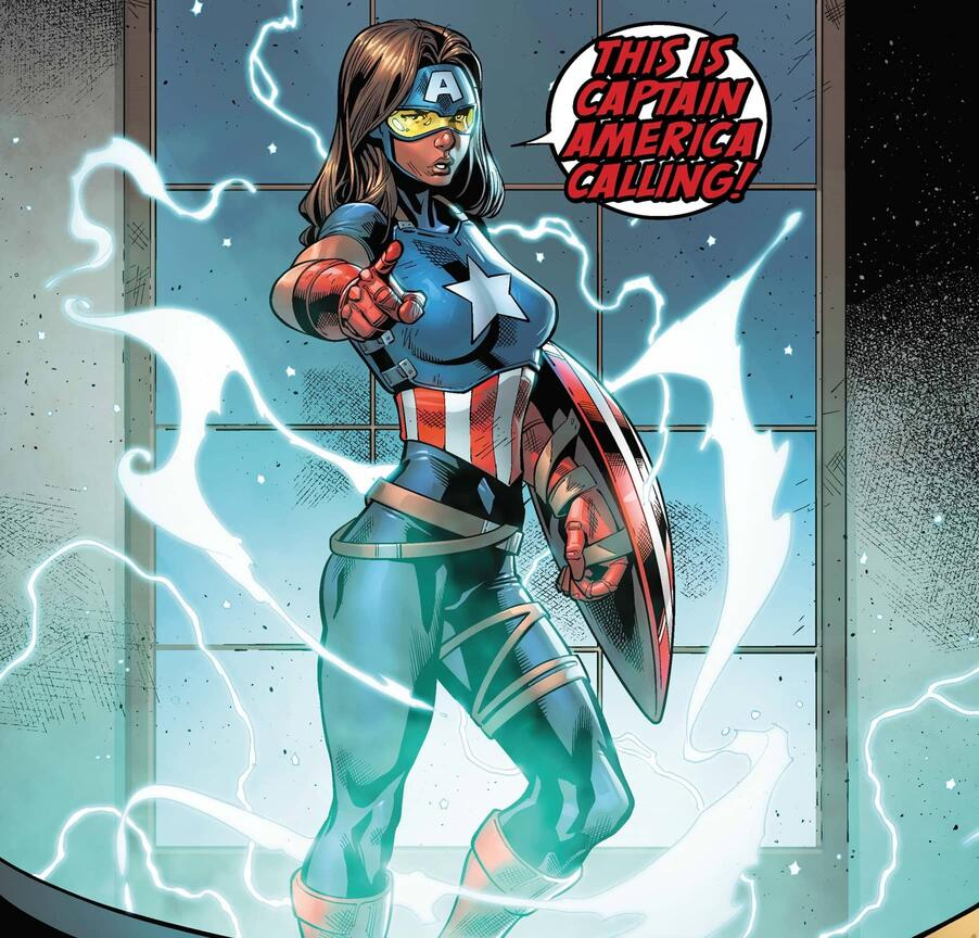 Danielle Cage answers the call in U.S.AVENGERS (2017) #1.