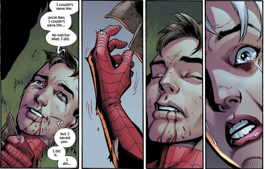Ultimate Spider-Man dies