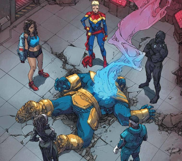 Thanos vs Ultimates