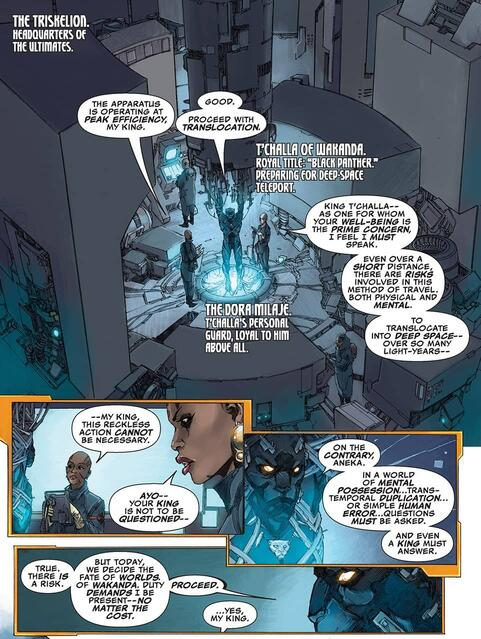 Ayo makes her case in ULTIMATES (2015) #2.