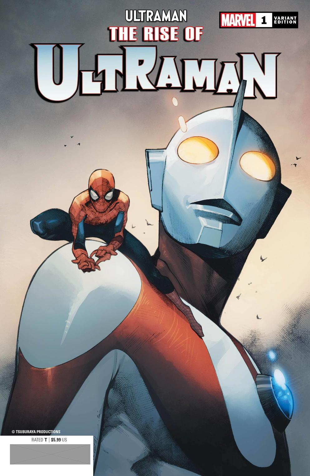 THE RISE OF ULTRAMAN #1 variant cover by Olivier Coipel
