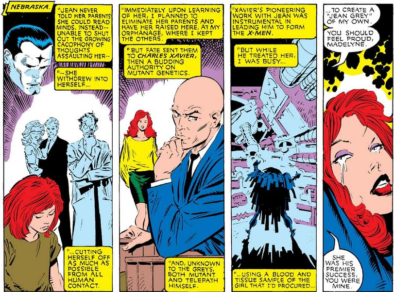 Madelyne Pryor learns the truth