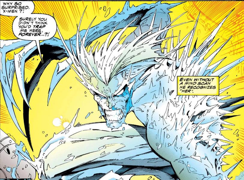 Emma Frost as Iceman