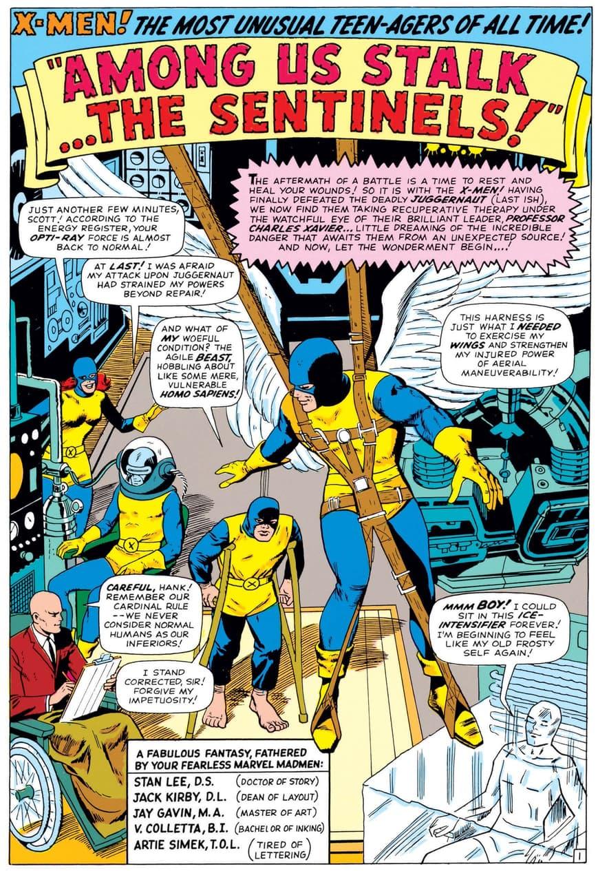 Meet the X-Men in UNCANNY X-MEN (1963) #14.