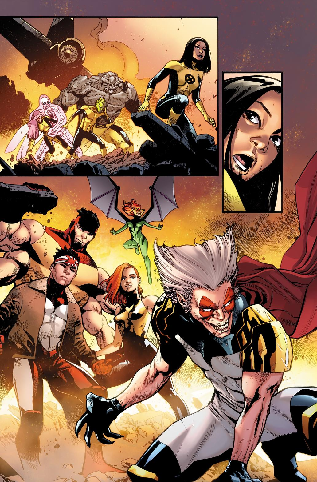 UNCANNY X-MEN #1 by Mahmud Asrar and Rachelle Rosenberg