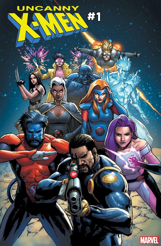 Cover of Uncanny X-Men #1