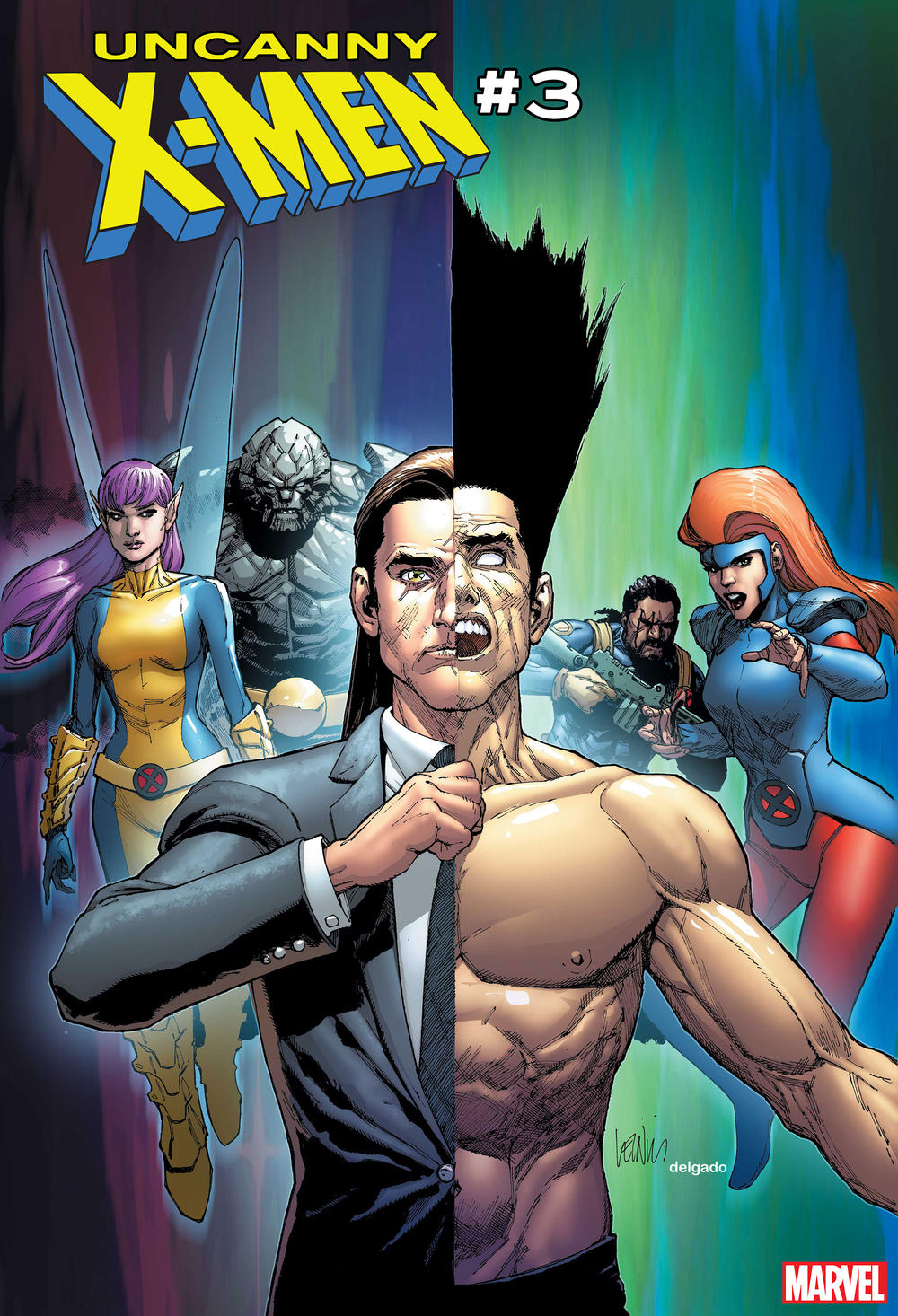 Cover of Uncanny X-Men #3