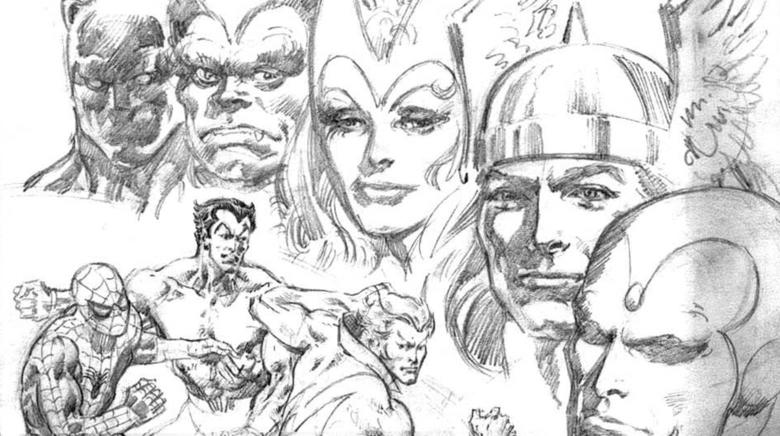 Fantastic Four Archives  Sealed Box Sketch in Every Box