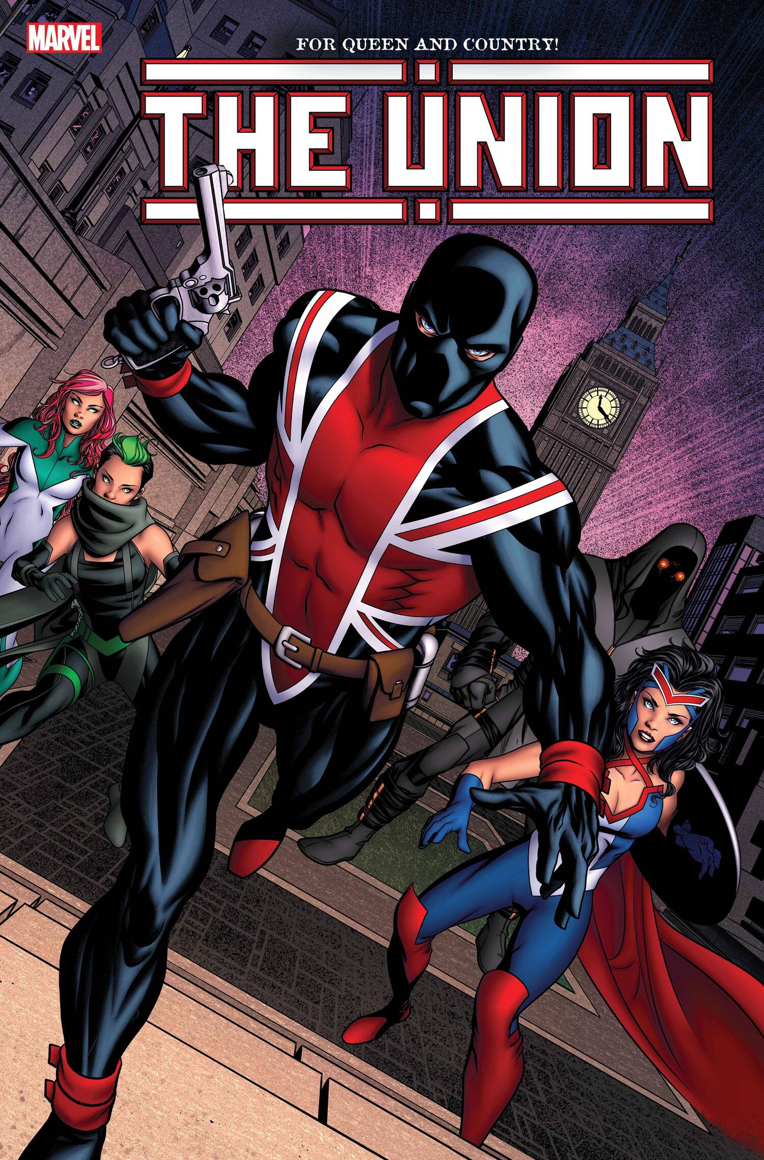 THE UNION #1 VARIANT COVER by MIKE MCKONE with colors by MORRY HOLLOWELL (MAR200867)