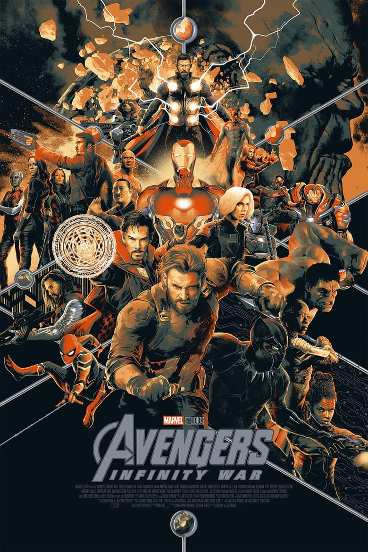 Infinity War(Regular / Timed Edition) Mondo poster