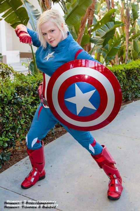 Taylor Keene/Captain America