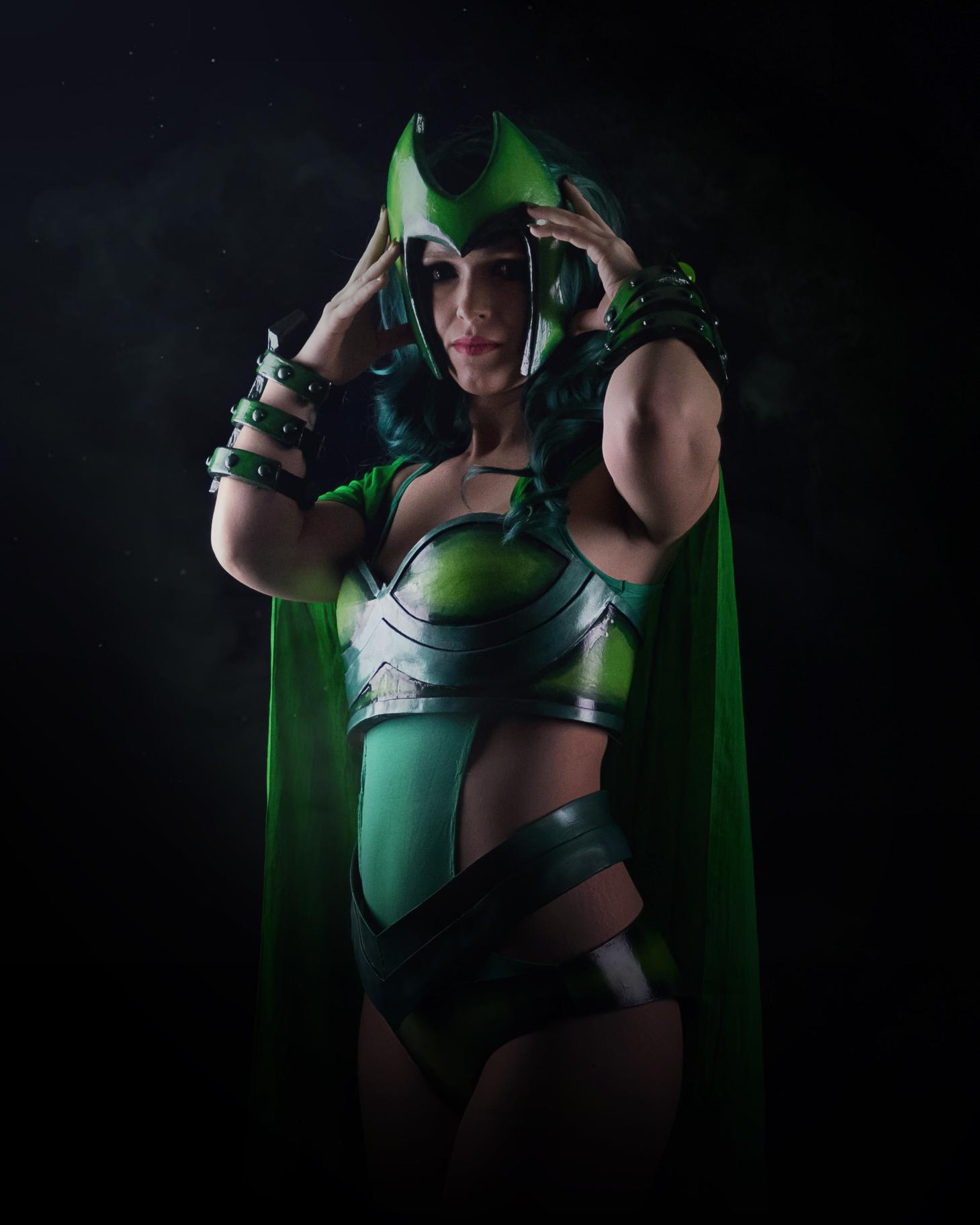Amy Munro AKA Erriaa as Polaris