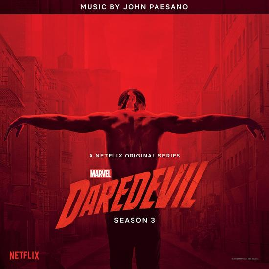 Marvel's Daredevil Season 3 Original Soundtrack Cover Album