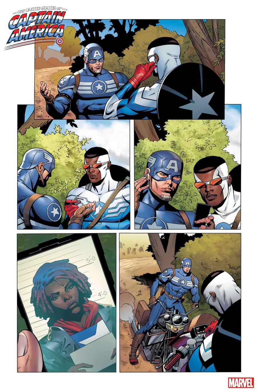 THE UNITED STATES OF CAPTAIN AMERICA #2 preview art by Dale Eaglesham with colors by Matt Milla