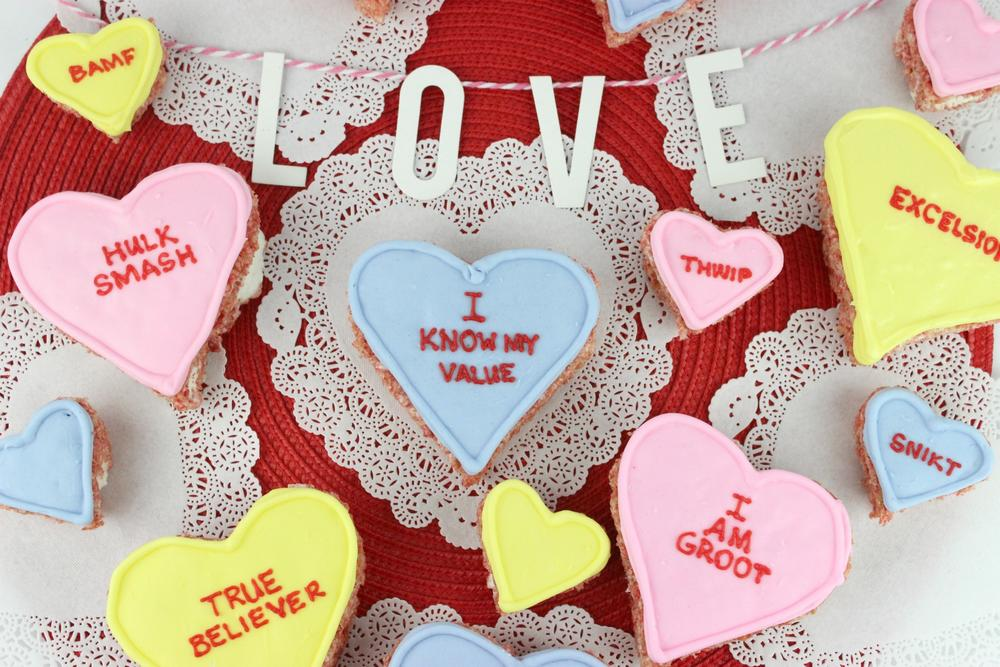 Valentine's Day: Marvel Conversation Heart Treats
