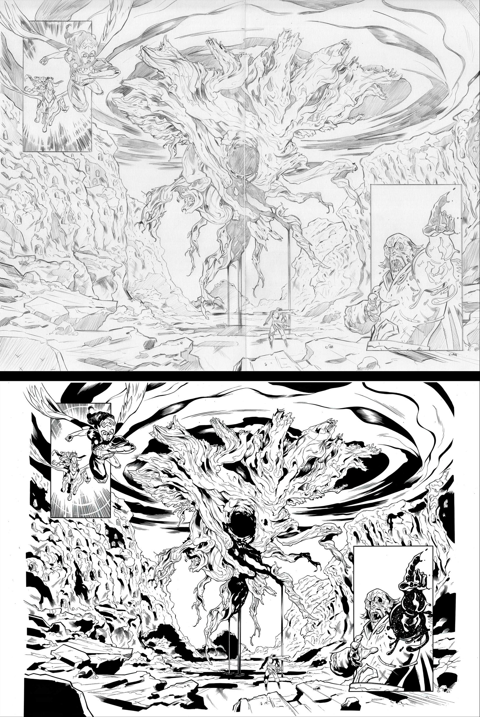 Process art by Cian Tormey