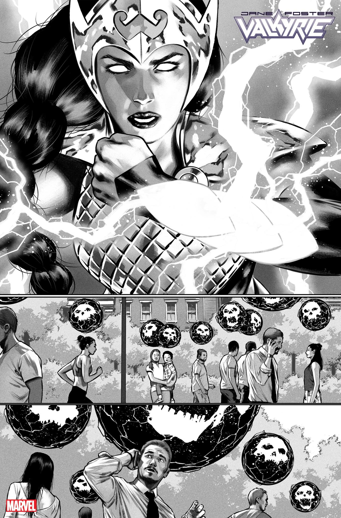 Valkyrie #8 preview art