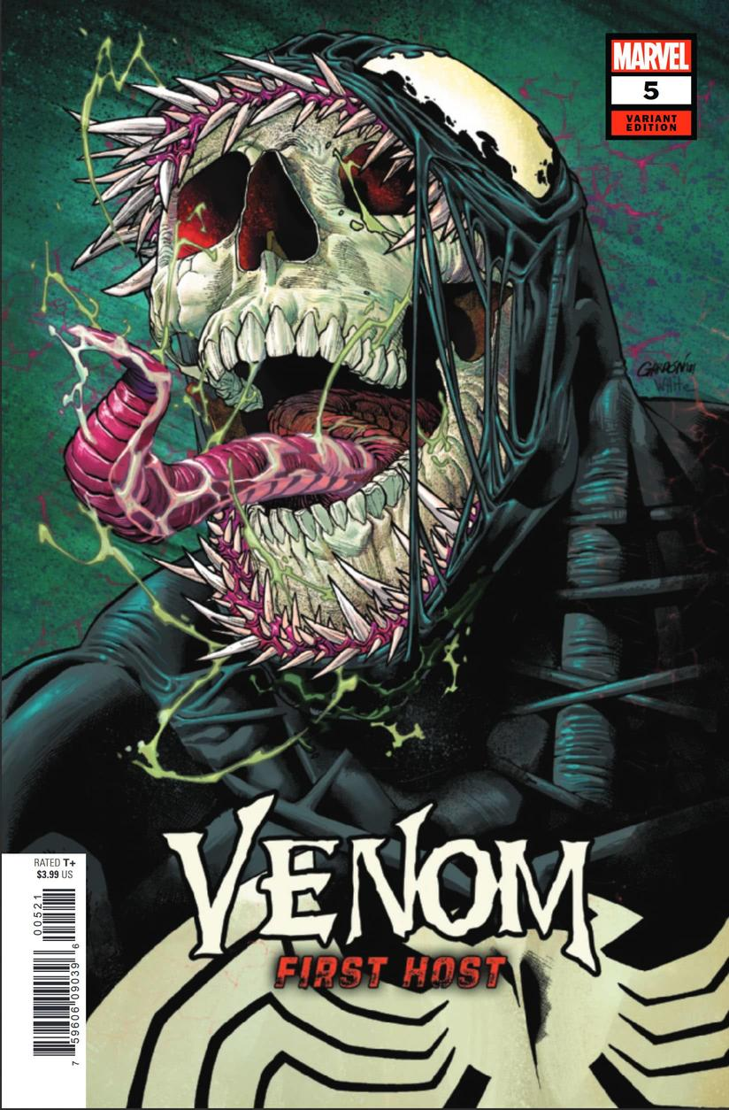 Venom: First Host #5 variant cover