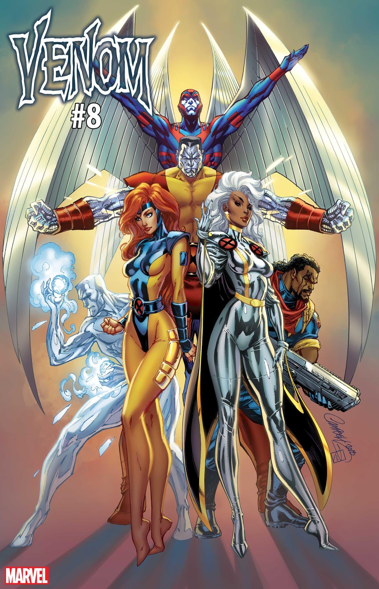 VENOM #8 / UNCANNY X-MEN VARIANT COVER by J. Scott Campbell
