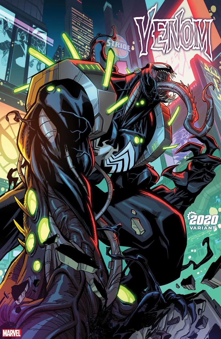 VENOM #21 2020 VARIANT by KHARY RANDOLPH with colors by EMILIO LOPEZ