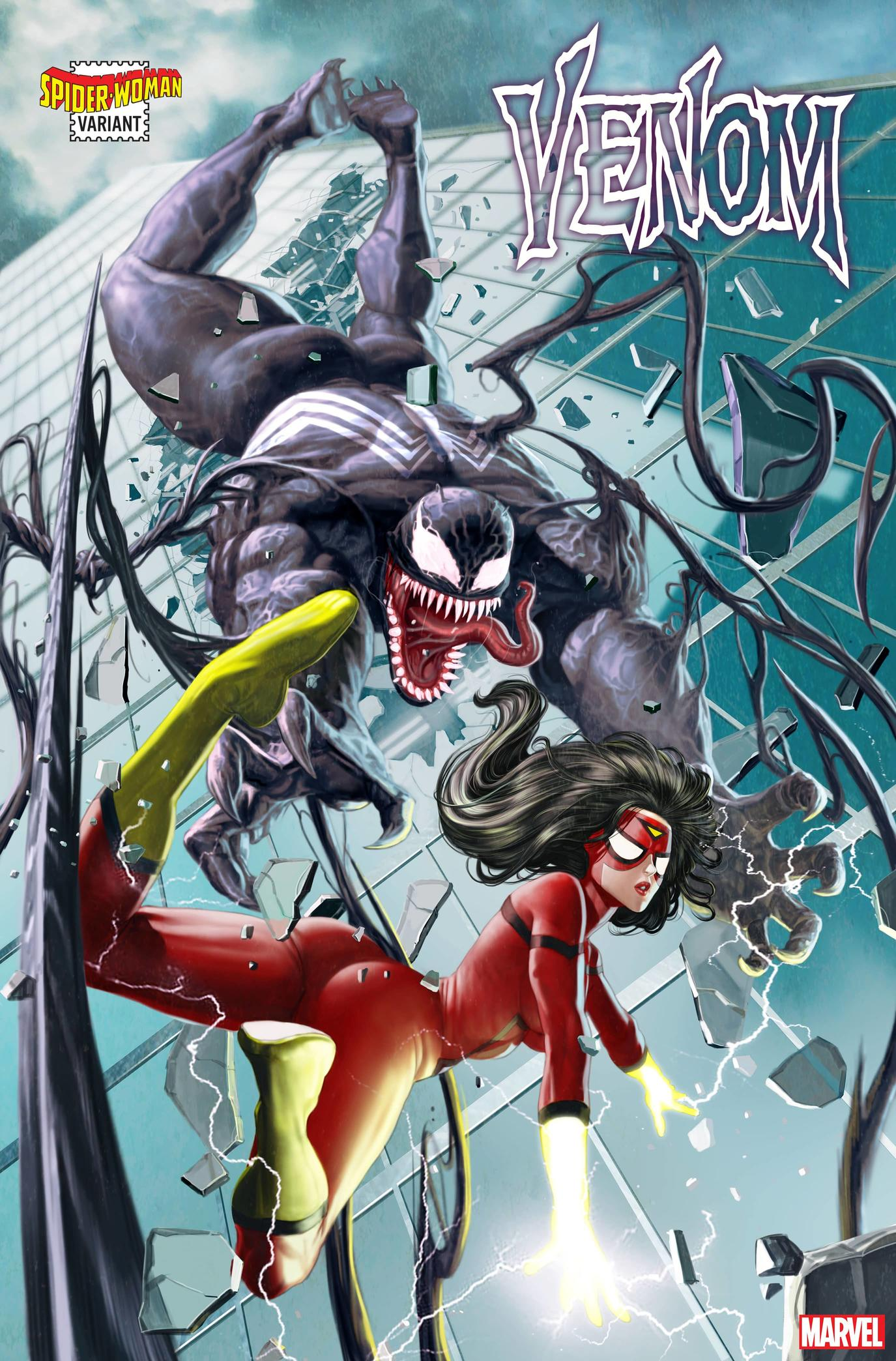 VENOM #24 SPIDER-WOMAN VARIANT by ROCK-HE KIM