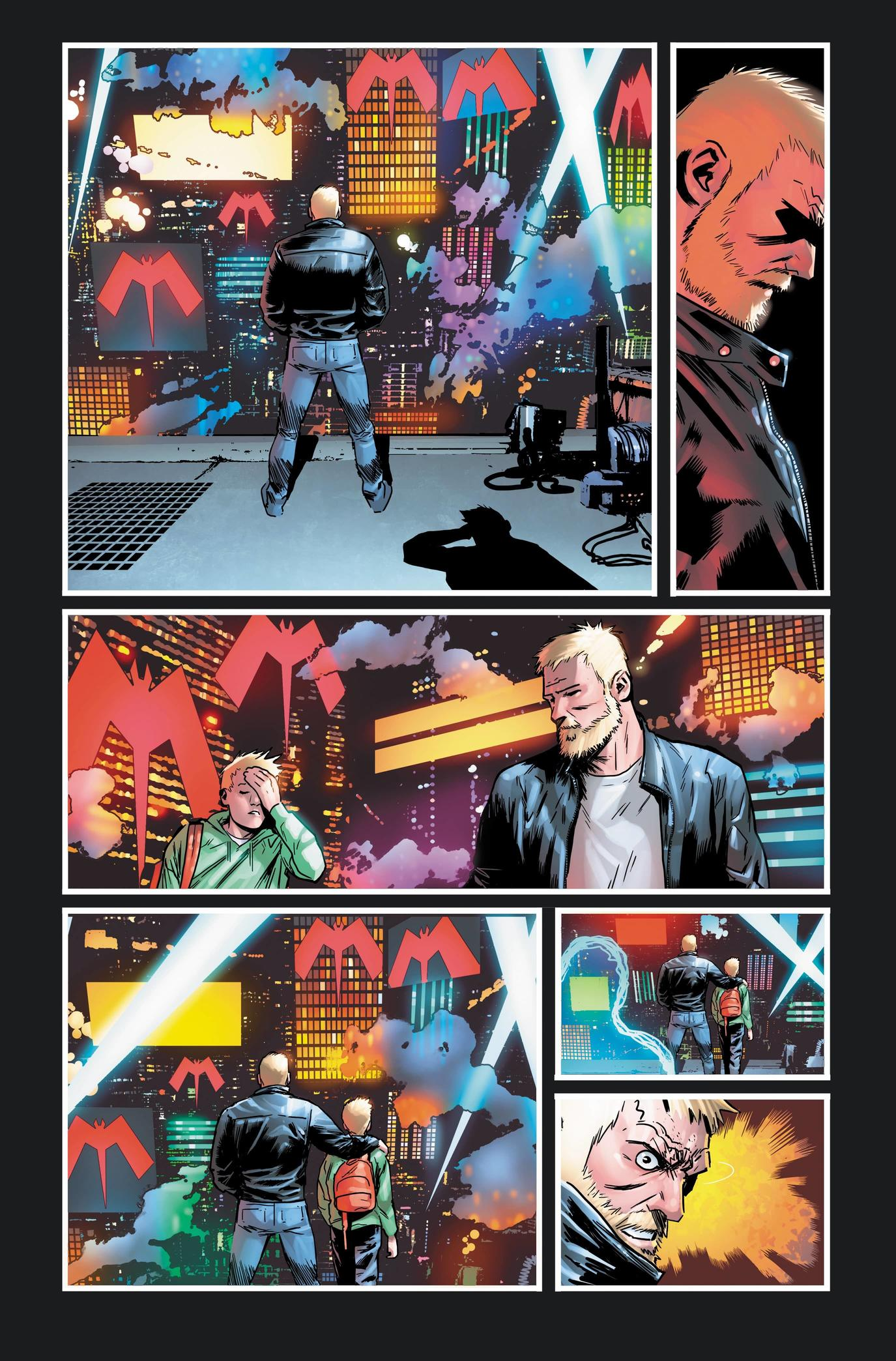 VENOM #27 preview interiors by Juan Gedeon with colors by Jesus Aburtov