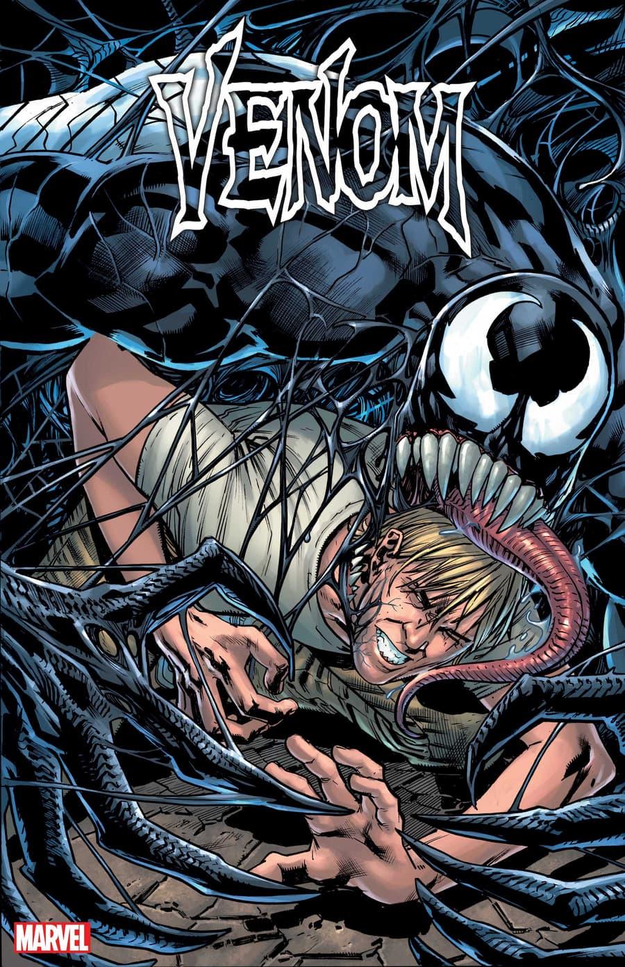 VENOM #3 cover by Bryan Hitch