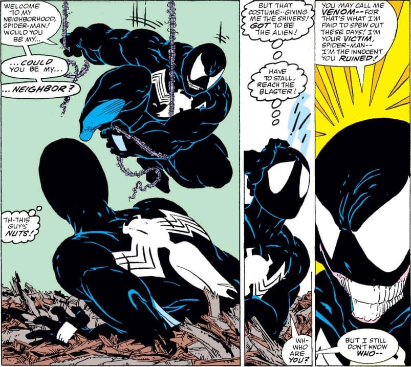 Spider-Man meets Venom
