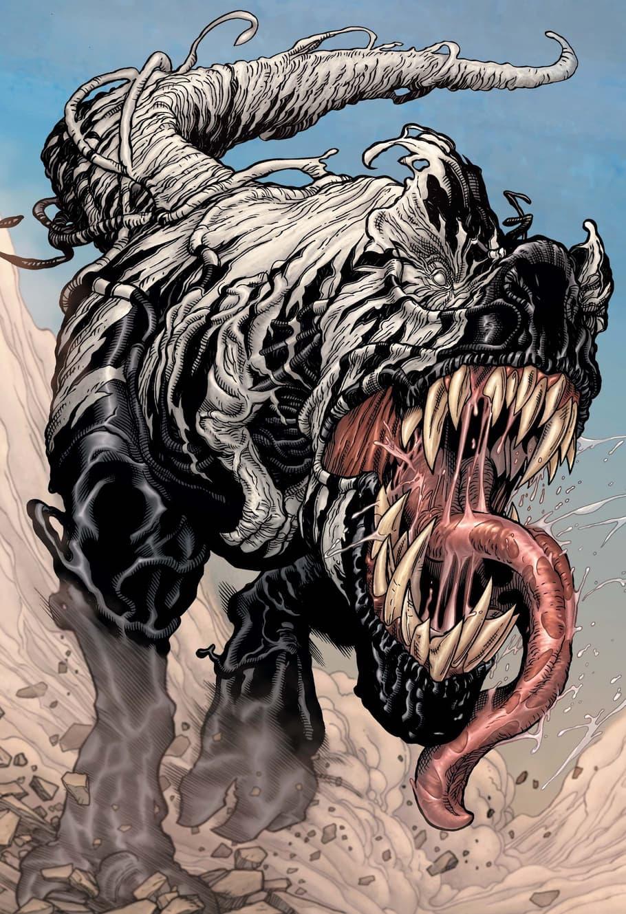 Venomized T-Rex