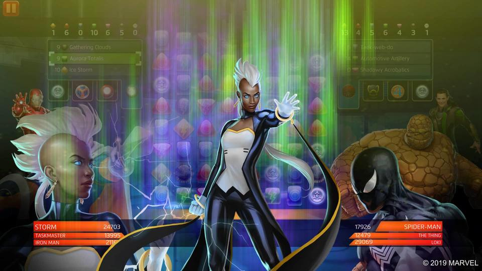 Storm Marvel Puzzle Quest