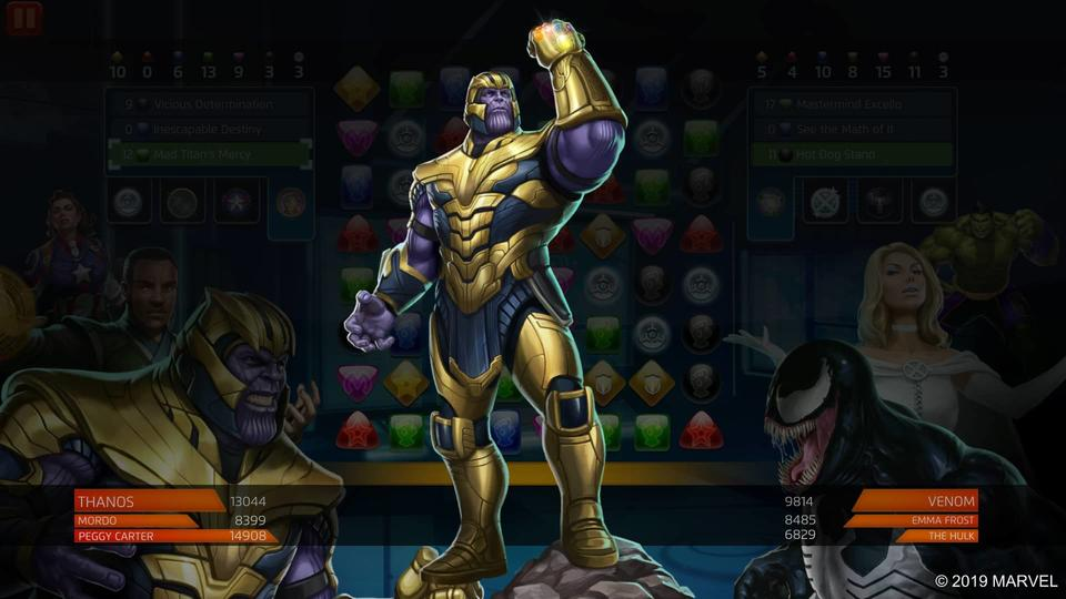 Thanos- Mad Titan's Mercy