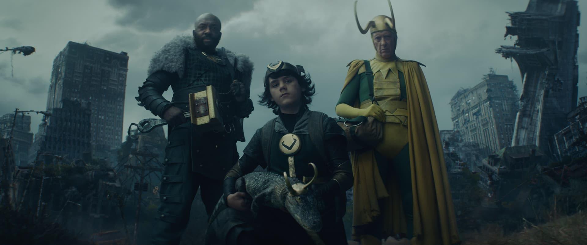 Boastful Loki, Kid Loki, Alligator Loki, Classic Loki