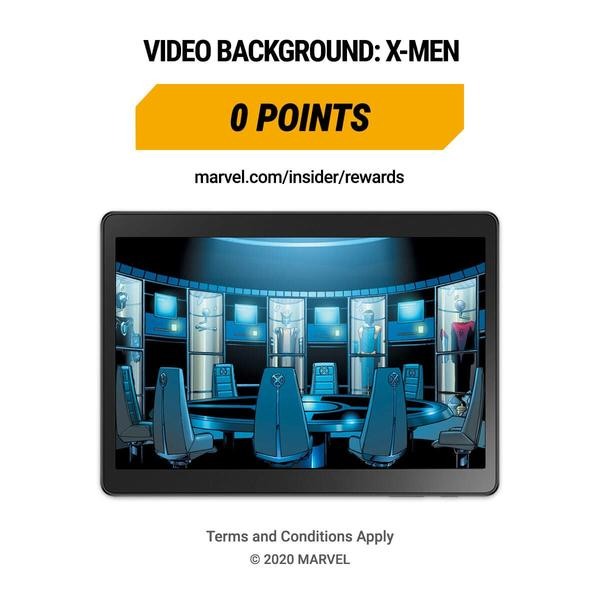 Marvel Insider Rewards X-Men Free Video Call Background