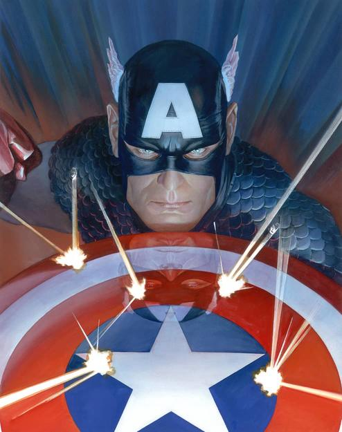 Visions Captain America by Alex Ross
