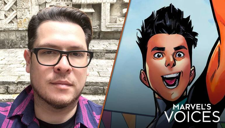 'Marvel's Voices': Terry Blas Is Ready to Create a New Era of Latinx Representation with Reptil Page