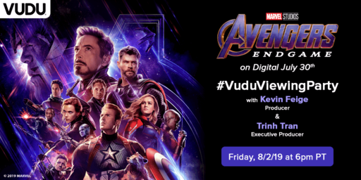 Vudu Viewing Party