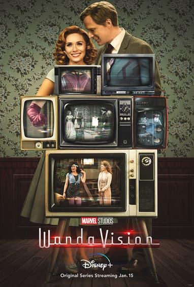 Marvel Studios WandaVision Disney Plus TV Show Season 1 Poster