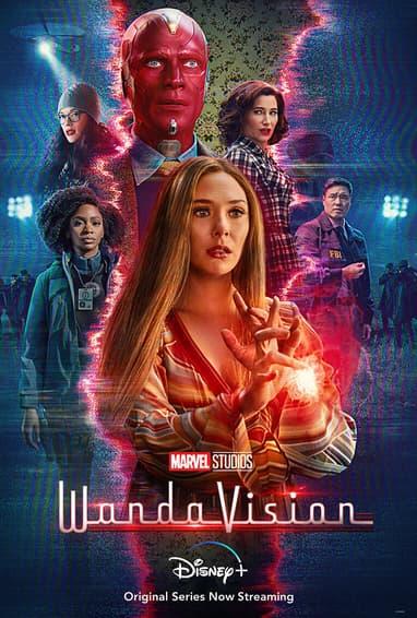 WandaVision TV Show Season 1 Poster
