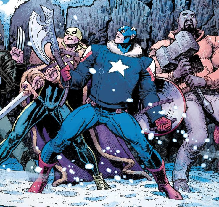 Cover art by Art Adams with colors by Matt Wilson