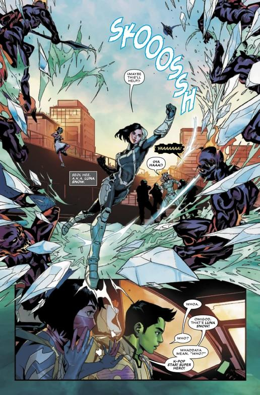 WAR OF THE REALMS: NEW AGENTS OF ATLAS #1 - Luna Snow