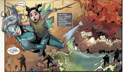 WAR OF THE REALMS: NEW AGENTS OF ATLAS #1 - White Fox