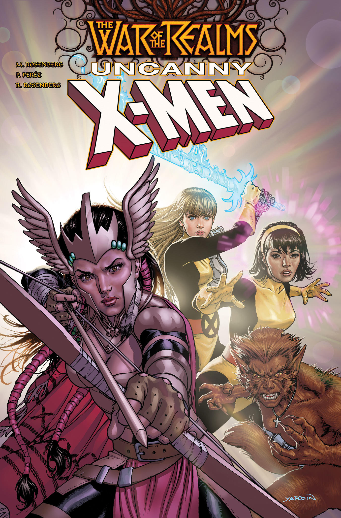 Cover of War of the Realms: Uncanny X-Men #1