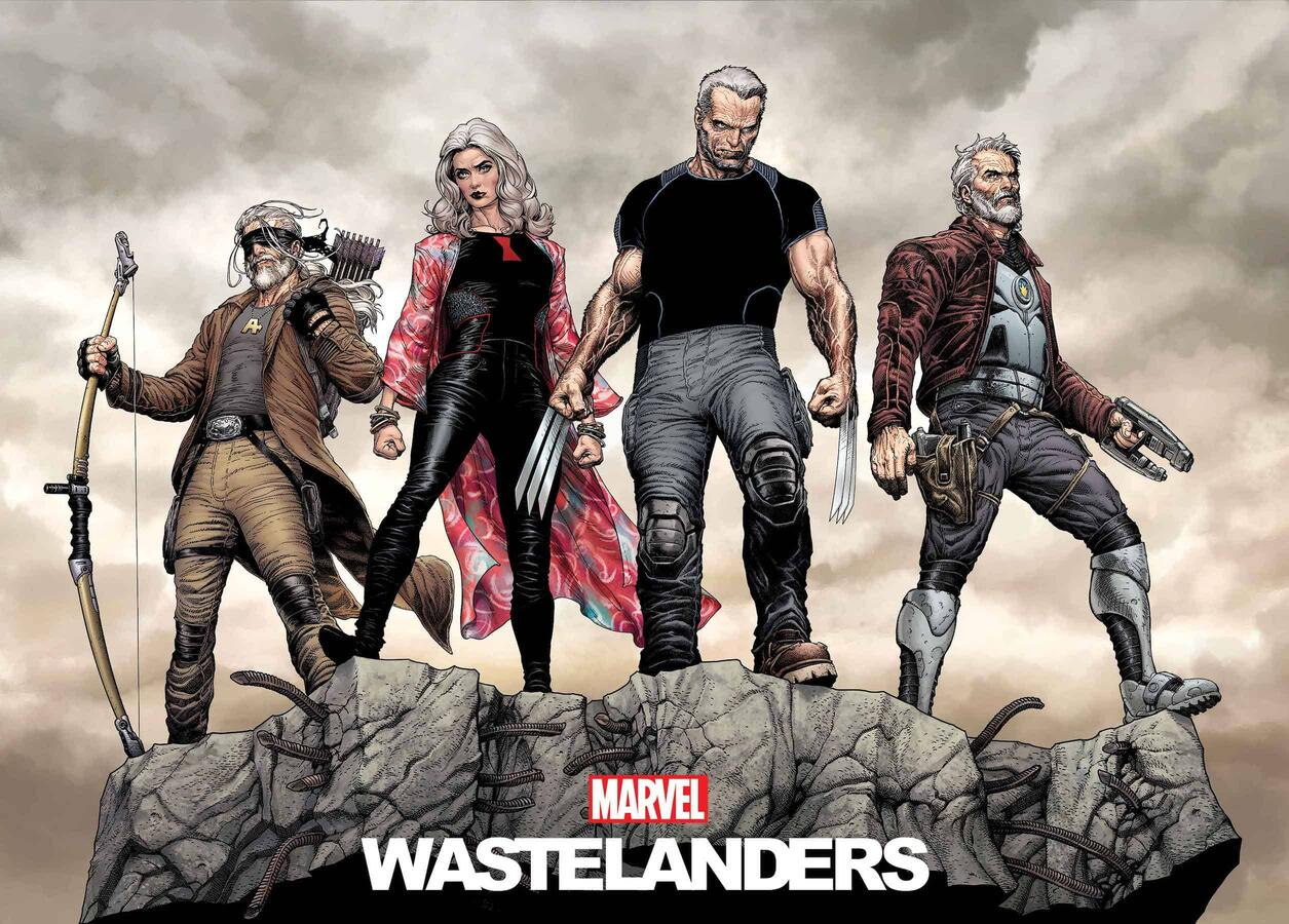 Wastelanders art by Steve McNiven