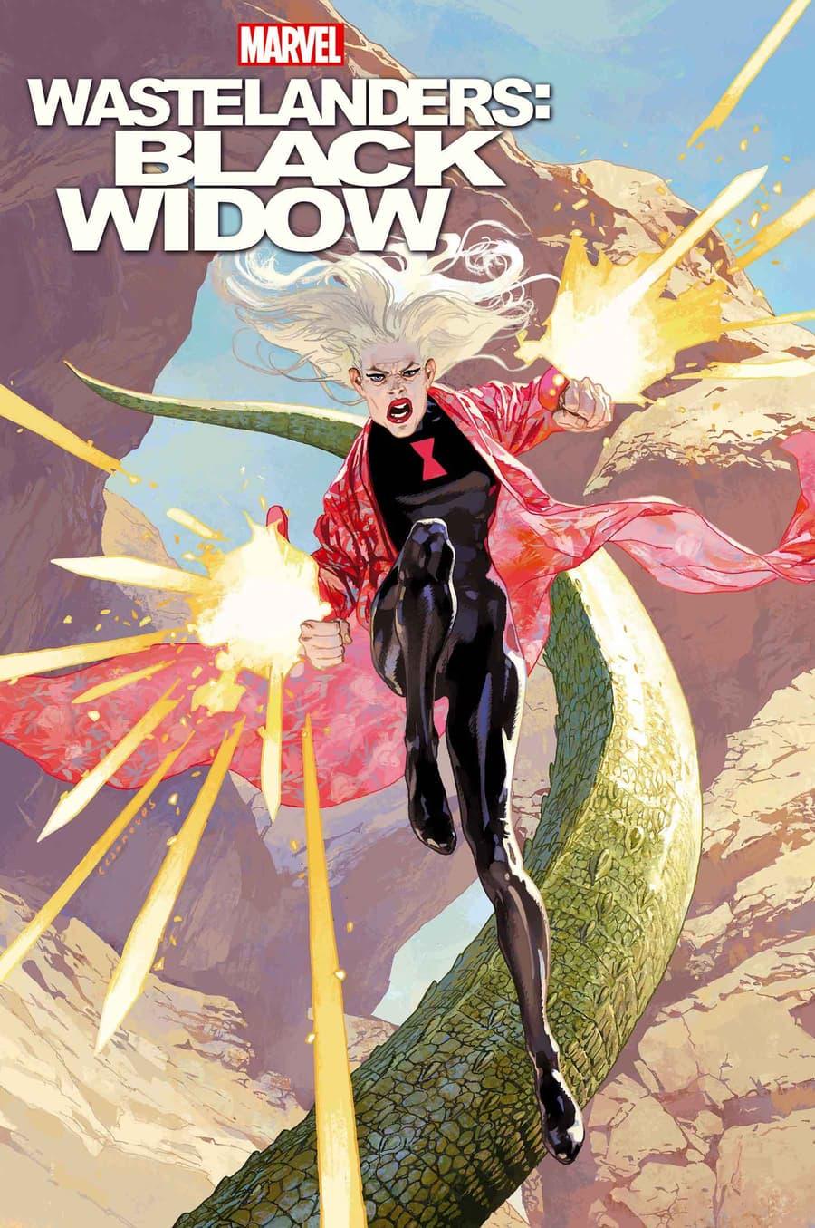 WASTELANDERS: BLACK WIDOW #1 cover by Josemaria Casanovas