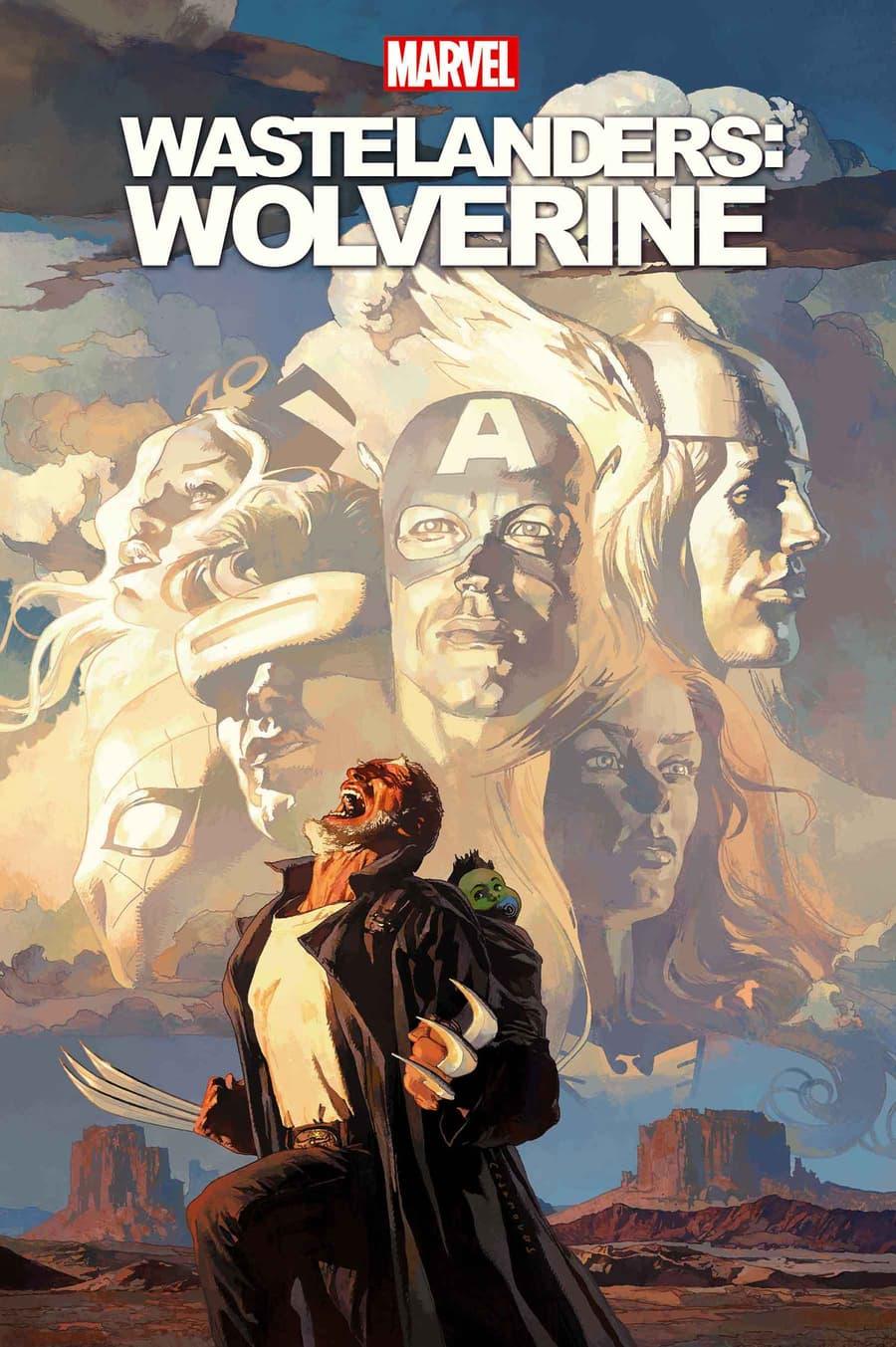 WASTELANDERS: WOLVERINE #1 cover by Josemaria Casanovas