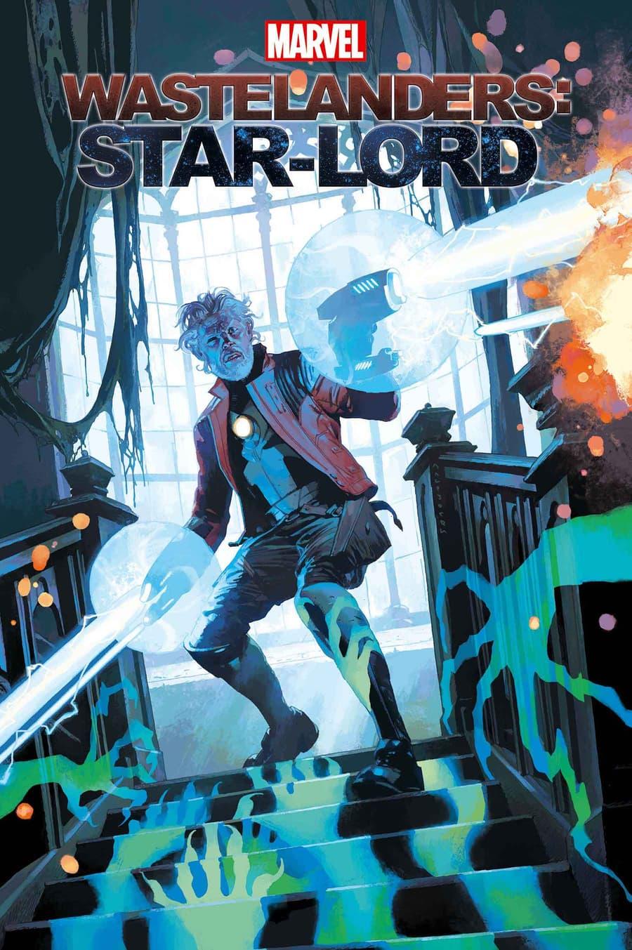 WASTELANDERS: STAR-LORD #1 cover by Josemaria Casanovas